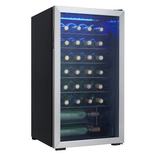 36-Bottle Free-Standing Wine Cooler