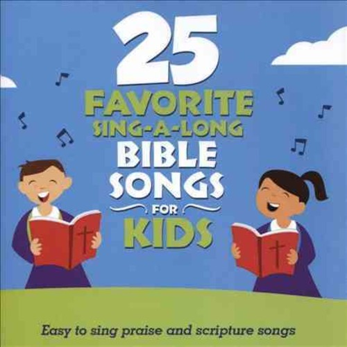Songtime Kids - 25 Favorite Sing-A-Long Bible Songs For Kids