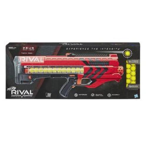 Hasbro Nerf Rival Zeus MXV-1200 Blaster Team Red Motorized 12-Rounds Hasbro B1592000