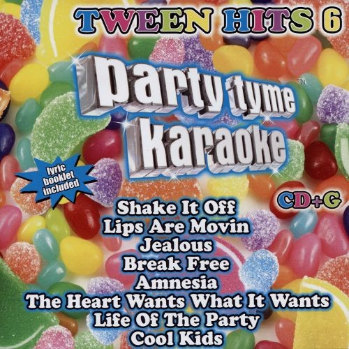Party Tyme Karaoke Tween Hits 6 CD