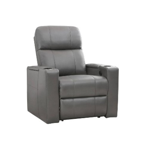 Ronnie Leather Theatre Recliner - Abbyson