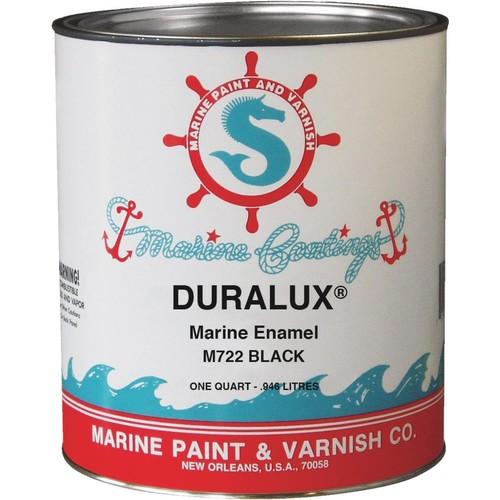 Duralux Marine Paint 1 qt. Black Marine Enamel