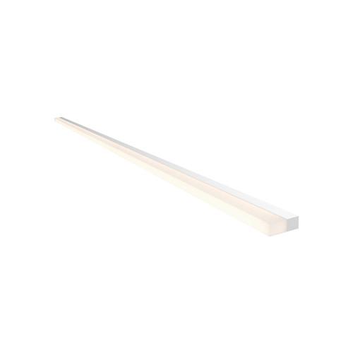 Sonneman Lighting Stiletto Lungo Satin White 48-inch LED Wall Bar