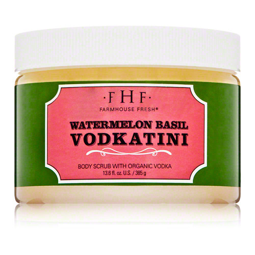 Watermelon Basil Vodkatini Sugar Scrub (13.6 oz.)