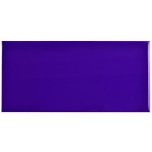 Merola Tile Park Slope Subway Royal Blue 3 in. x 6 in. Ceramic Wall Tile (17 sq. ft. / case)