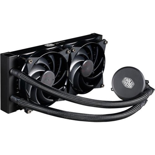 MasterLiquid 240 All-in-one CPU Liquid Cooler with Dual Chamber Pump by Cooler Master
