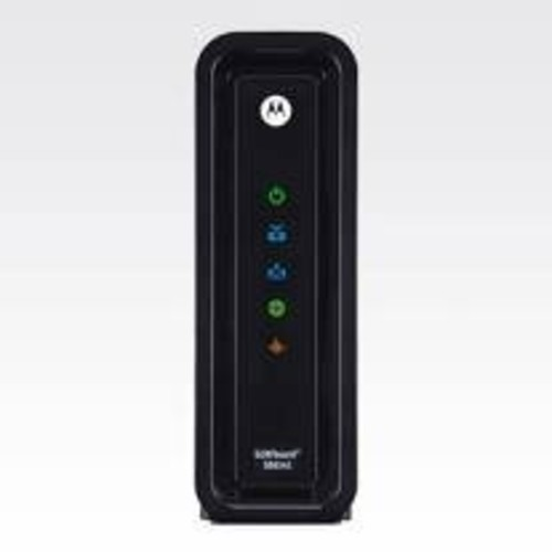 Motorola SURFboard SB6141 DOCSIS 3.0 High-Speed Cable Modem- BLACK (OEM Brown Box)