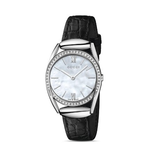 GUCCI Horsebit Watch With Diamonds, 30Mm