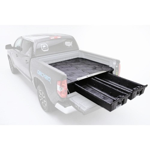 DECKED Pick Up Truck Storage System for Ford Super Duty Aluminum, 6 ft. 9 in. Bed Length
