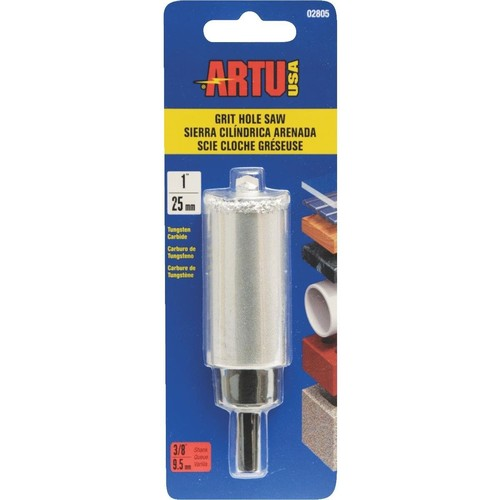 ARTU Tungsten Carbide Grit Hole Saw - 02805