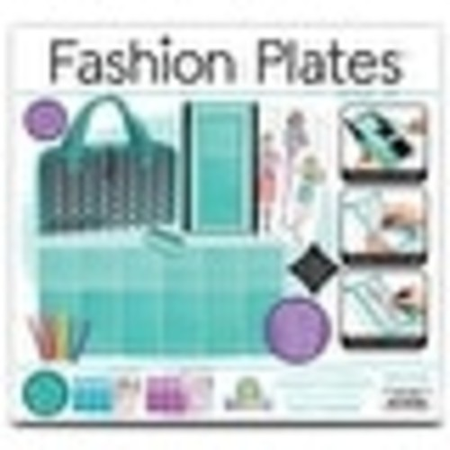 Fashion Plates Deluxe Play Kit - multi