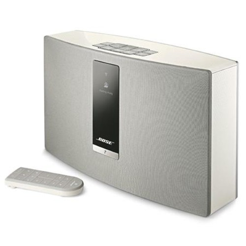 Bose SoundTouch 20 Series III Wireless Music System? with Remote Control, White 738063-1200