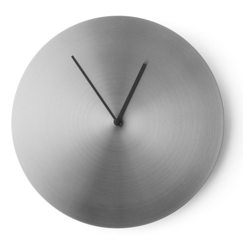 Metal Wall Clock in Steel design by Menu
