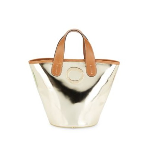 FRANCES VALENTINE - Charlie Patent Leather Bucket Bag