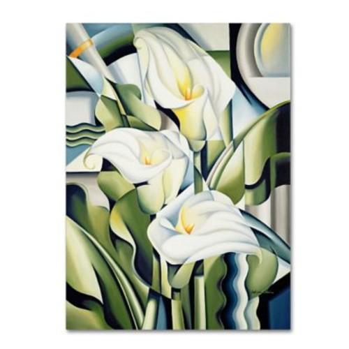 Trademark Fine Art 'Cubist Lilies' 35