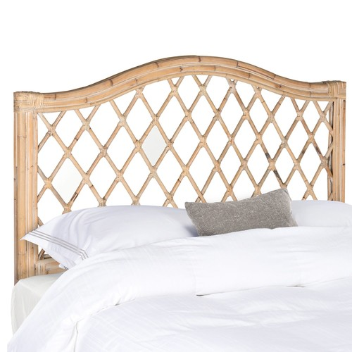 Safavieh Gabrielle Wicker Headboard, Available in Multiple Colors and Sizes