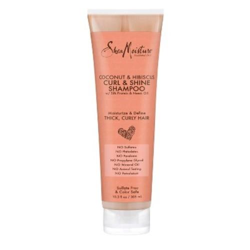 SheaMoisture Coconut & Hibiscus Curl & Shine Shampoo - 10.3 oz