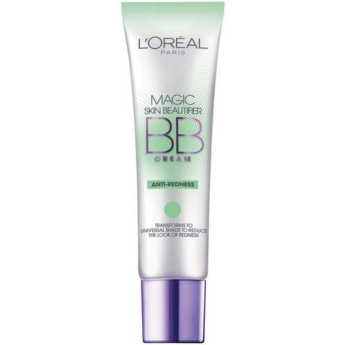 L'Oreal Magic Skin Beautifier BB Cream, Anti-Redness, 1 fluid oz
