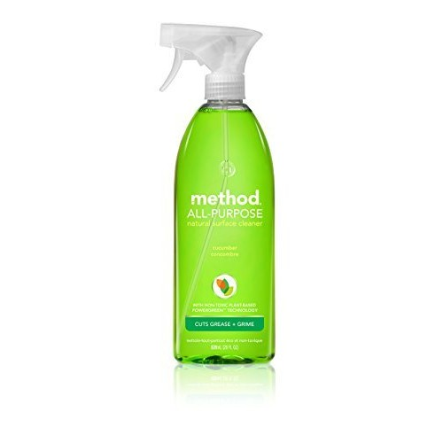 Method Bathroom All Surface Cleaner, Cucumber, 28 fl oz. [Cucumber]