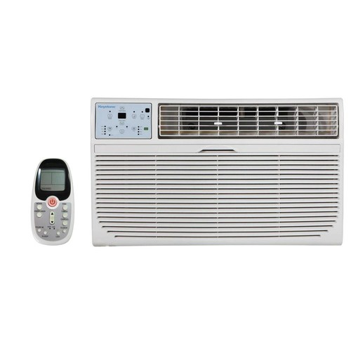 Keystone 10,000 BTU 230-Volt Through-the-Wall Air Conditioner with Heat and Remote