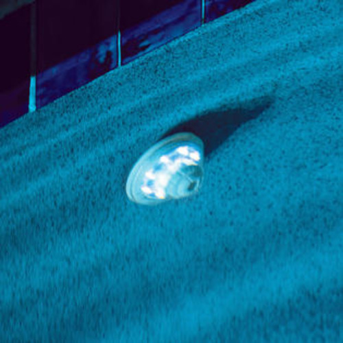 Blue Wave Hydro-Powered Return Jet LED Pool Light and Show