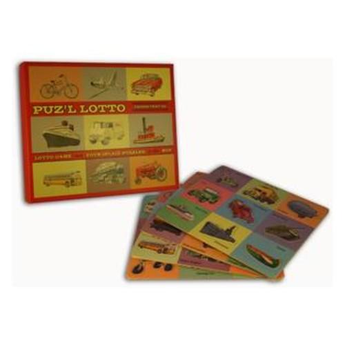 Perisphere & Trylon Puz'l Lotto Things That Go Game