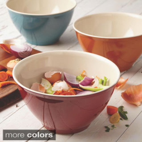 Rachael Ray Accessories Orange Garbage Bowl