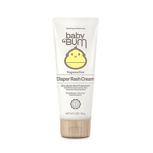 Baby Bum 3 oz. Diaper Rash Cream Fragrance-Free