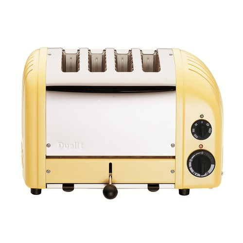 Dualit New Gen 4-Slice Canary Yellow Toaster