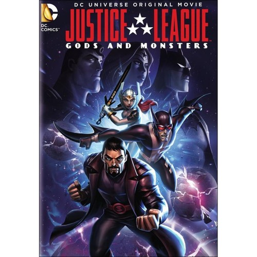 Justice League: Gods and Monsters [DVD] [2015]