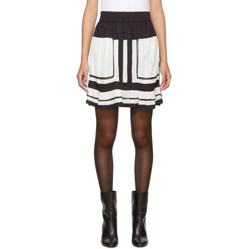 Ecru Rhoda Miniskirt