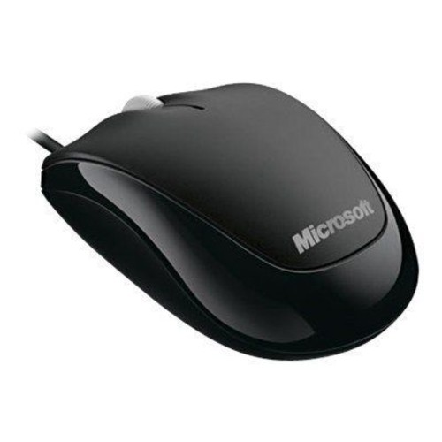 DNPMicrosoft 4HH-00001 USB Wired Optical Mouse, Black