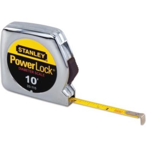 Stanley PowerLock 10-Foot Retractable Pocket Tape Rule