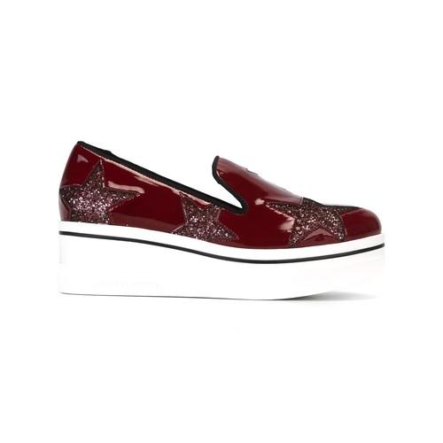 STELLA MCCARTNEY 'Binx' Loafer Detail Slippers