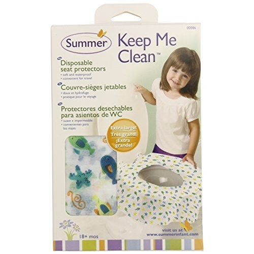 Summer Infant Keep Me Clean Disposable Potty Protectors Travel Pack, 20-Count [20 Count]