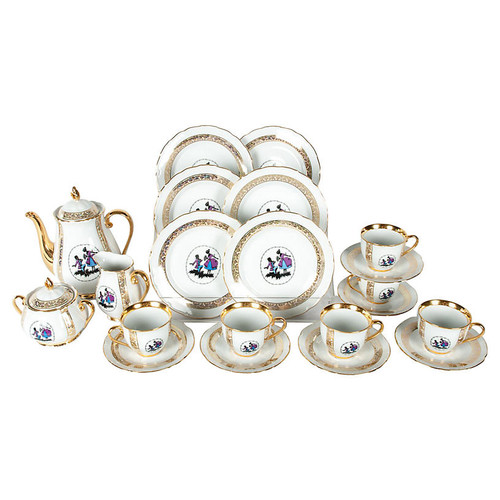 Tea & Coffee Set, 21 Pcs