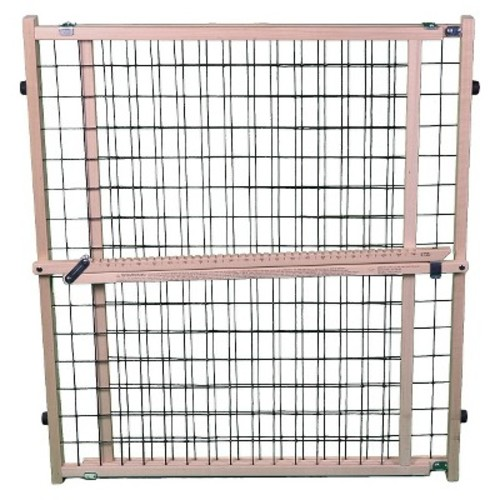 MyPet Extra -Wide Brown Wire Mesh Pet Gate
