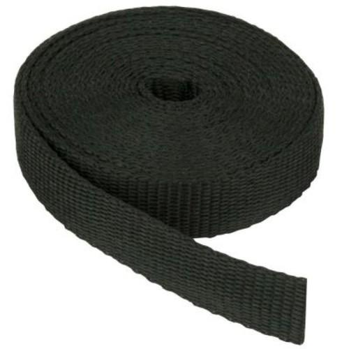 Everbilt 1-1/2 in. Black Webbing Strap