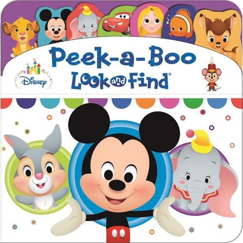 Disney Peek-a-Boo Look and Find Board Book