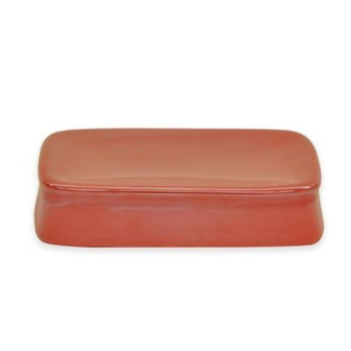 Jessica Simpson Kensley Soap Dish in Coral