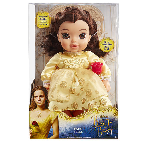 Disney Beauty and Beast Deluxe Belle Baby Doll - Brunette