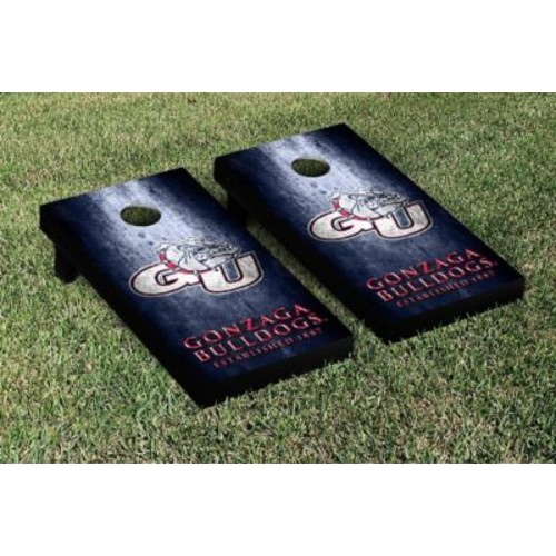 Victory Tailgate NCAA Metal Version Cornhole Game Set; Gonzaga Bulldogs