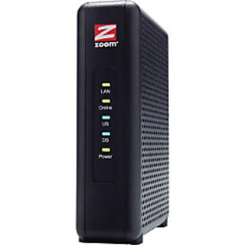 Zoom 5345 DOCSIS 3.0 Cable Modem, 5.7W x 1.6W x 4.1D
