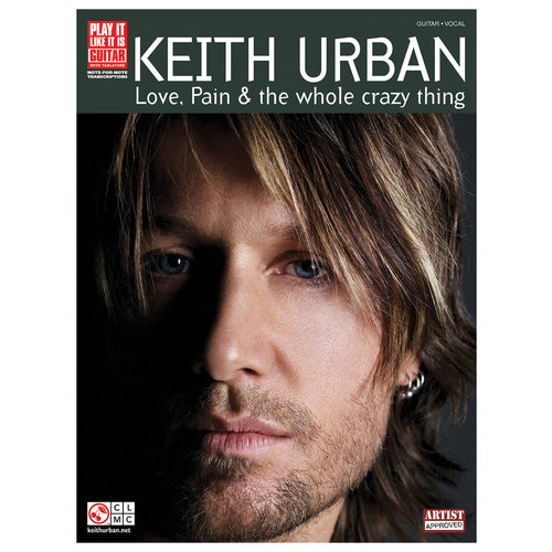 Hal Leonard - Keith Urban: Love, Pain & The Whole Crazy Thing Sheet Music - White/Black/Gray