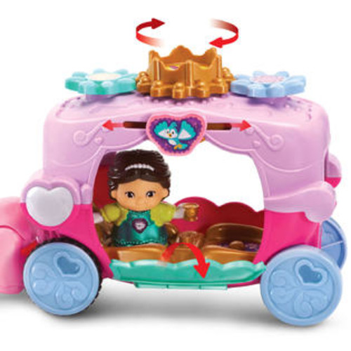 VTech Go! Go! Smart Friends Trot and Travel Royal Carriage Set