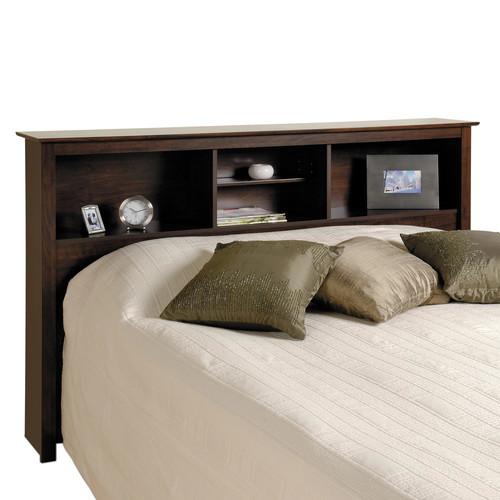 Prepac Furniture Full/Queen Bookcase Storage Headboard