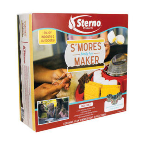 Sterno 70246 Family Fun S'mores Maker, Red