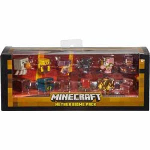 Mattel Minecraft Nether Biome Mini Figures - 6/Pack