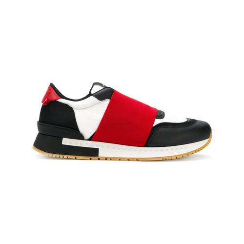 elastic strap sneakers