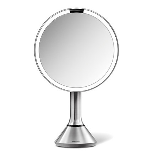 simplehuman Sensor Round Make-Up Mirror, 8